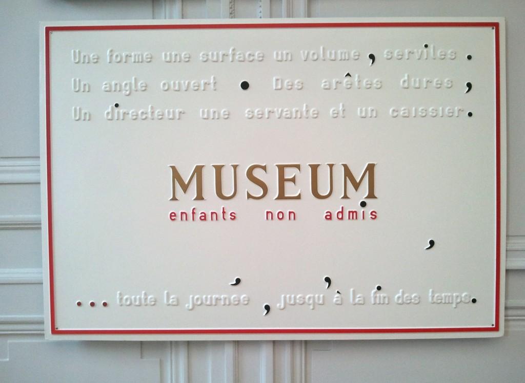 Département des Aigles: le vrai-faux musée de Marcel Broodthaers