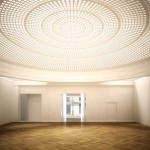 Le magnifique dôme lumineux de chez Eléphant Paname, réalisé par l'Atelier Audibert