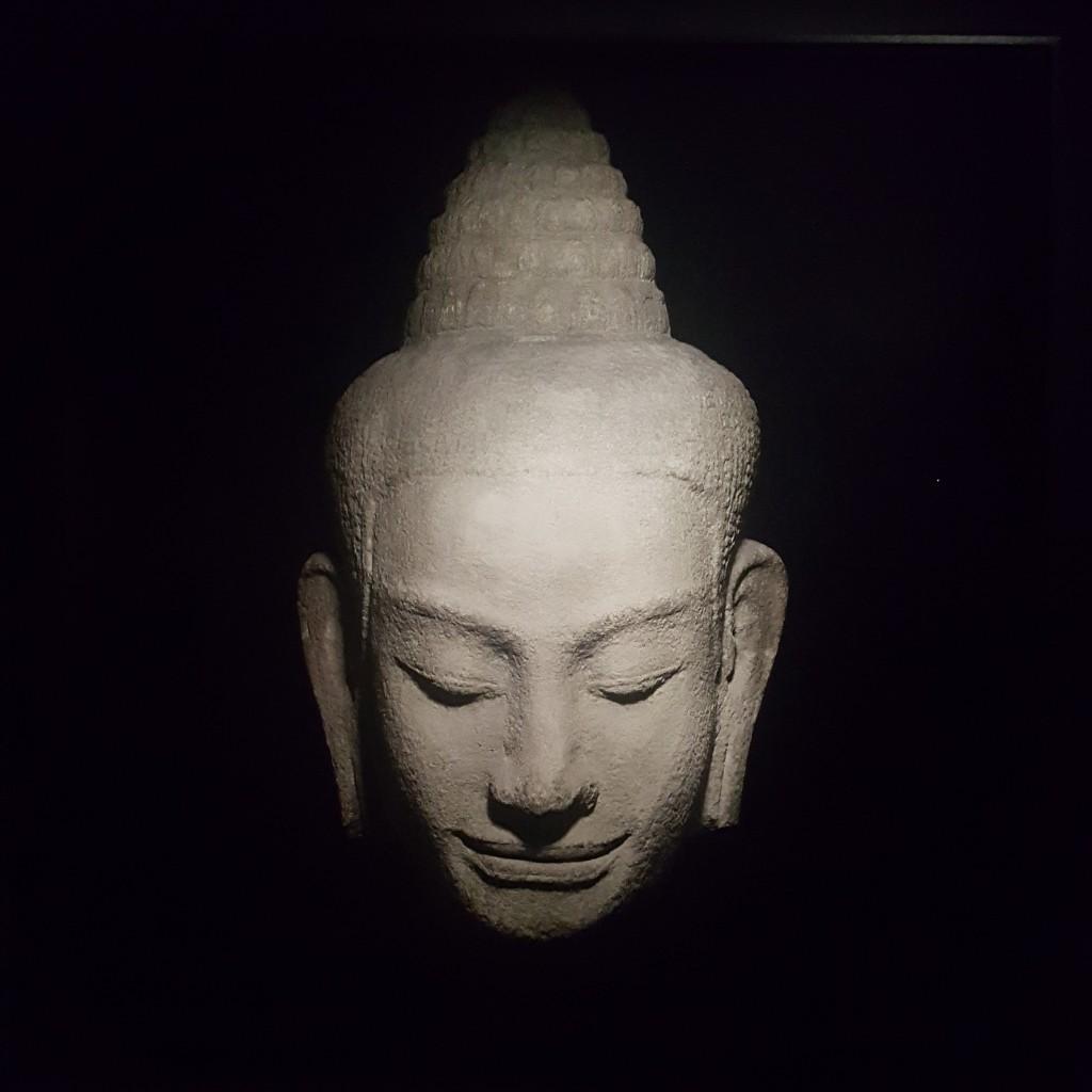 Vue de l'exposition Infinis d'Asie - Jean-Baptiste Huynh, 20 février - 20 mai, Musée Guimet. Photographie: Samuel Landée.